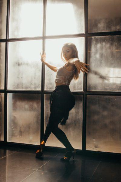 Саша Арешина танцы на каблуках